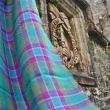 Dunans Rising Tartan Fine Woollen Scarf