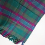 Lambswool Blanket in Dunans Rising Tartan